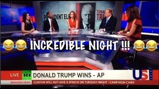 Download The moment RT NEWS realizes Donald Trump has WON THE ELECTION !! Video
