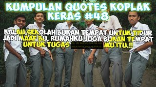 Download Caption Sindiran Koplak 🤦♂ (Status wa/status foto) - Quotes Remaja Part 48 Video
