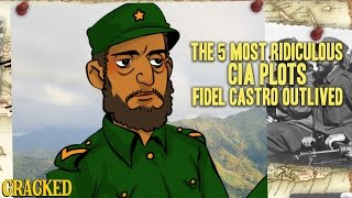 Download The 5 Most Ridiculous CIA Plots Fidel Castro Outlived Video