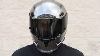 Download Icon Airframe Pro Quicksilver Helmet - GetLowered Video