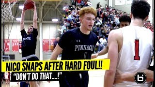 Download ″Don't DO THAT ISH″ Nico Mannion Makes Em PAY After Getting Fouled HARD! Trent GOES OFF AGAIN! Video
