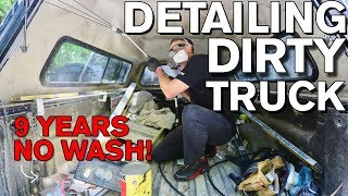 Download Detailing Dirty Truck Interior after 9 Years! Chevrolet Silverado Video