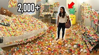Download Room Covered in Squishies Prank on Little Sister..2,000+ SQUISHIES Video