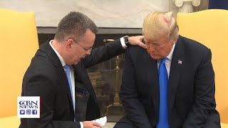 Download Pastor Brunson Prays for President Trump in the Oval Office Video