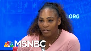 Download Zerlina Maxwell: I've Never Before Seen What Happened To Serena Williams Yesterday | AM Joy | MSNBC Video