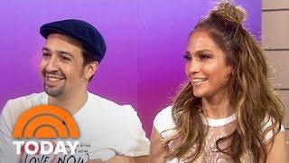 Download Jennifer Lopez: I 'Stalked' Lin-Manuel Miranda Into Singing With Me   TODAY Video