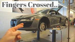 Download UH OH! MY AUDI R8 HAS A PROBLEM... Video