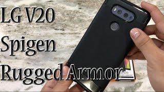 Download LG V20 Spigen Rugged Armor Case Video