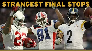 Download Iconic Players' Strangest Final Career Stops | NFL Throwback Video