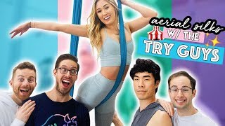 Download Trying Aerial Silks With The Try Guys Video