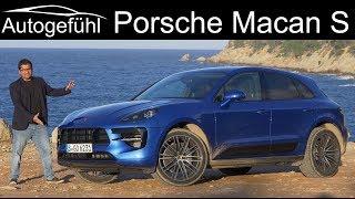 Download Porsche Macan S Facelift FULL REVIEW 2019 2020 - Autogefühl Video