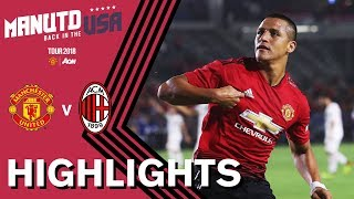 Download Manchester United 1-1 AC Milan (9-8) | ALL 26 PENALTIES | Highlights | Watch Tour 2018 LIVE on MUTV! Video