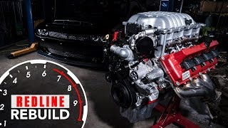 Download Engine build time-lapse 840-hp Dodge Demon Hemi V-8 | Redline Rebuilds - S3E1 Video