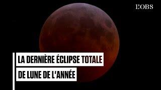 Download Revivez la dernière éclipse totale de Lune de l'année Video