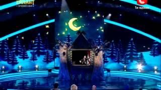 Download Україна має талант 4! Шоу театр ДеСаВі 21 04 12 Video