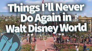 Download Things I'll NEVER Do Again in Walt Disney World Video