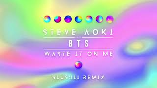 Download Steve Aoki - Waste It On Me feat. BTS (Slushii Remix) [Ultra Music] Video