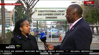Download Latest update from Zimbabwe as MDC lawyers file court papers Video