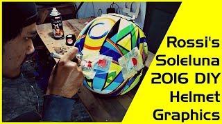 Download The Making of Valentino Rossi's Soleluna 2016 Graphic Helmet Video