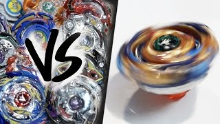 Download HAND-SPINNING Drain Fafnir (Spin Stealing) VS ALL BEYBLADE BURST! - EPIC Beyblade Burst Marathon! Video