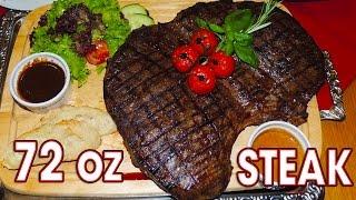 Download Porterhouse 72oz Steak Challenge in Germany!! Video