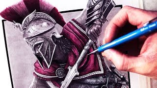 Download Let's Draw ASSASSIN'S CREED ODYSSEY - FAN ART FRIDAY Video