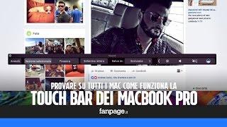 Download Provare Touch Bar dei nuovi MacBook Pro su tutti i Mac con un app gratis Video