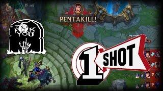 Download Top 30 Best ″ Amazing One Shot Pentakills ″ Unbelievable Moments (League Of Legends) Video