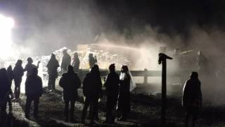 Download Standing Rock 2016-11-20 Militarized police attack water protectors Video