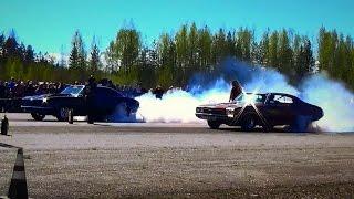 Download Street Car Drag Racing! - Vesivehmaa - May 2017 Video
