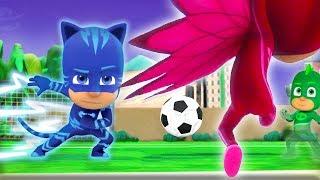 Download PJ Masks Full Episodes Football Fever! ⚽️WORLD CUP 2018 Special ⚽️Superhero Cartoons for Kids Video