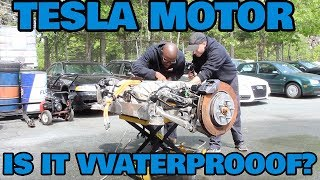 Download Can You Drown a Tesla Motor? Video
