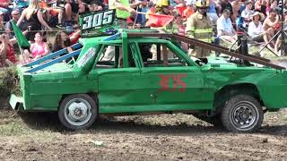 Download Comber Fair Demolition Derby 2017 | 5 Foot Outlaw Class Video