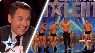 Download These dancers make David blush! | Britain's Got Talent Unforgettable Audition Video