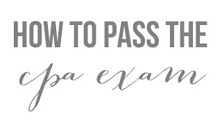 Download How I Passed the CPA Exam (My Background & Tips on Preparing/Scheduling/Taking the Exam) Video
