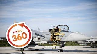 Download 360 VIDEO: Saab JAS 39 Gripen na Plesu Video