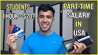 Download International Student Salary in USA | Part time & Full time work Video