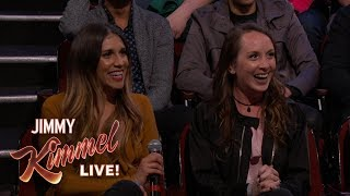Download Behind the Scenes with Jimmy Kimmel and Audience (Divorce Trip After 48 Hour Marriage) Video