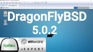 Download How to Install DragonFlyBSD 5.0.2 + XFCE Desktop + Apps + Review on VMware Workstation [2018] Video