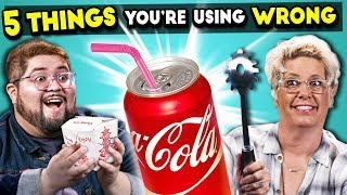 Download 5 Everyday Objects You're Using Wrong Video