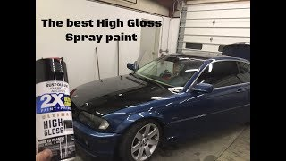 Download The Best spray can paint for high gloss. (Hood has imperfections) Video