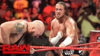 Download Big Cass silences Enzo Amore and Big Show: Raw, July 17, 2017 Video