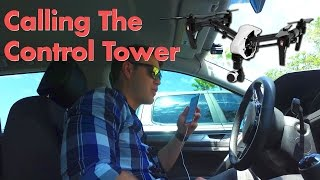 Download Calling the Airport to Fly a Drone Video