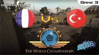 Download CS:GO World Championship 2016 - France Vs Turkey [Game 3] (Semi-Final) Video