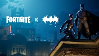 Download Fortnite X Batman Announce Trailer Video