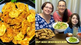 Download Crispy Golden Chicken Nuggets | Gay Family Mukbang (먹방) - Eating Show Video