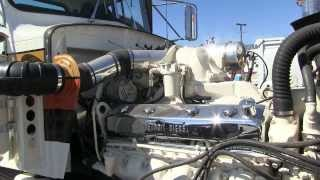 Download 1975 Peterbilt 359 With A ″Buzzin' Dozen″ Detroit Diesel 12V71 At TFK 2013 Video