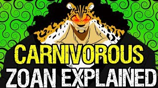 Download Carnivorous Zoan Fruits Explained! - One Piece Discussion Video