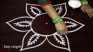 Download latest rangoli designs for navarathri festival - vijaya dasami kolam designs - dasara muggulu Video
