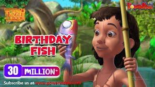 Download jungle book hindi Cartoon for kids 76 Birthday Fish Video